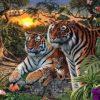 この絵の中にトラは何匹??全部見つけたあなたはIQ150以上の天才かも!!